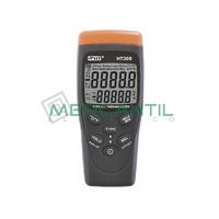 Termometro Digital con Sonda K/J HT300 HT INSTRUMENTS