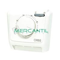 Termostato Analogico con Interruptor y Salida Conmutada CLIMA MLW ORBIS