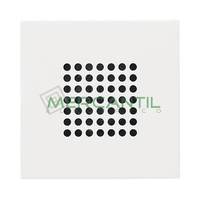 Timbre con Tapa 4 Melodias 72dB 2 Modulos Zenit NIESSEN - Color Blanco
