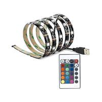 Tira de LED USB 2x0.5m 7.2W/m 5V para TV RGB IP44 GSC