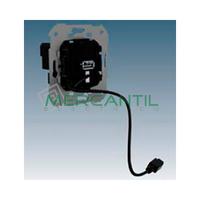 Toma Cargador USB con Latiguillo Micro-USB 5V/DC SIMON 75