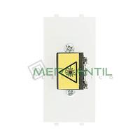 Toma Fibra Optica SC 1 Modulo Zenit NIESSEN - Color Blanco