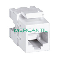 Toma Hembra RJ45 Categoria 6 UTP Keystone Bloque 110 LEGRAND