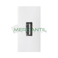 Toma USB 2.0 Tipo A 1 Modulo Zenit NIESSEN - Color Blanco