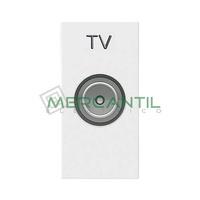 Toma de Television Final TV Tipo M 1 Modulo Zenit NIESSEN - Color Blanco