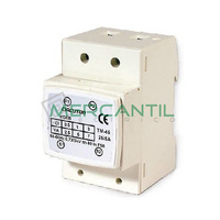 Transformador de Corriente Primario Bobinado para Carril DIN 15A TM45 CIRCUTOR