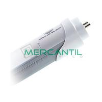 Tubo LED T8 20W 1200mm con Detector de Movimiento Conexion Dos Laterales Aluminio IP42 LEDME