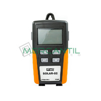 Unidad Remota para Medida de Irradiacion y Temperatura sobre Modulos FV SOLAR02 HT INSTRUMENTS