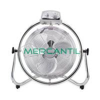 Ventilador Industrial de Suelo Oscilante 120W 3 Velocidades GSC