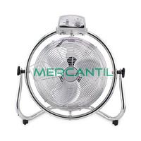 Ventilador Industrial de Suelo Oscilante 45W 3 Ventilacion GSC