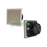 Ventilador con Filtro 40m3 105x105x80 IP54 RETELEC