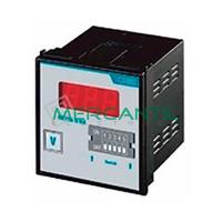Voltimetro/Amperimetro Trascuadro Conexion Indirecta 600V METRA Q-V/A ORBIS