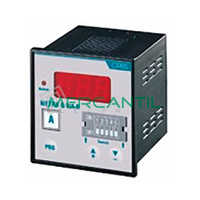 Voltimetro/Amperimetro Trascuadro con Rele 600V METRA Q-V/A-R ORBIS